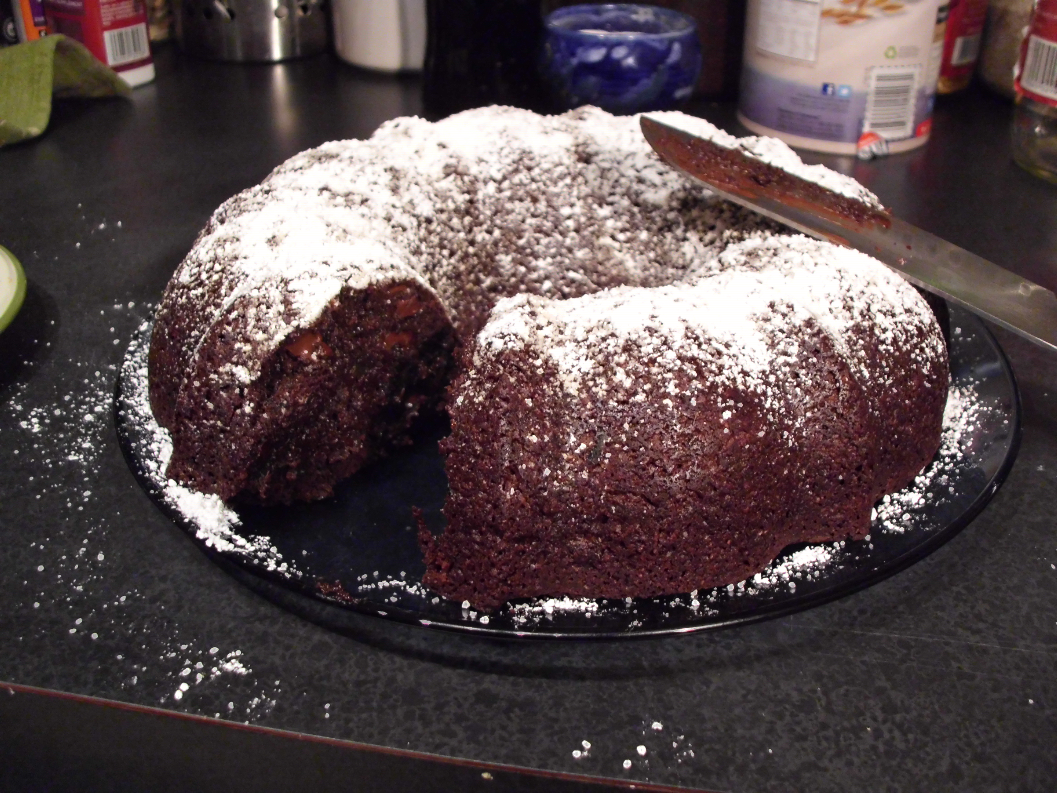 Vegan Chocolate Zucchini Cake | Share the Cooking